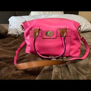 Kate spade hot pink crossbody purse 14 L x 9 h